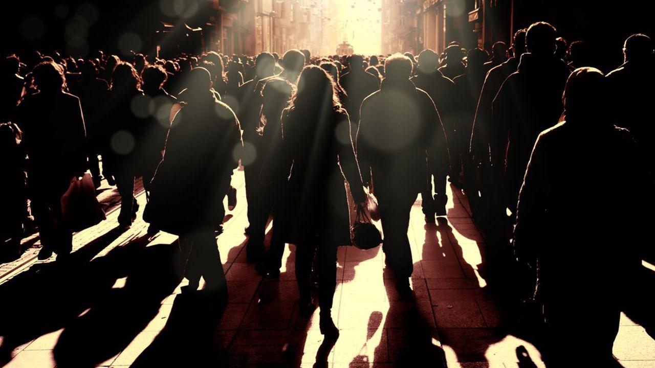 Le scénario central de l'ONU voit la population mondiale passer de 7,7milliards d'individus aujourd'hui à 9,7milliards en 2050 puis à 10,9milliards en 2100