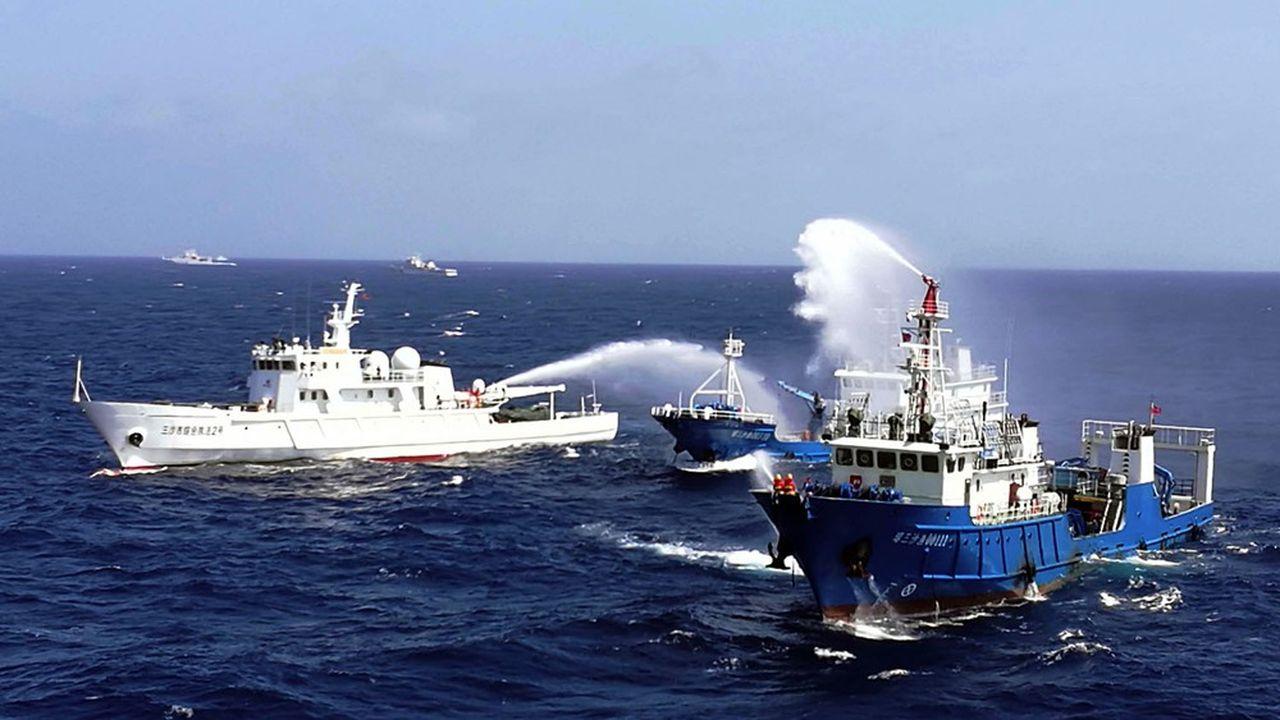 Les Etats-Unis haussent le ton face aux ambitions de Pékin en mer de Chine du Sud.