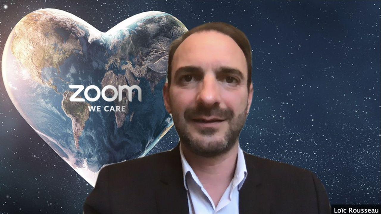 Loïc Rousseau est devenu directeur général de Zoom France en juillet2018.