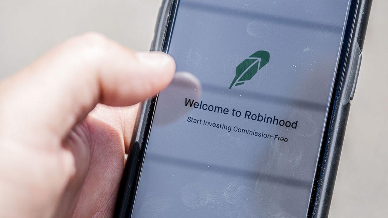 Robinhood, l'application des boursicoteurs, est valorisée 8,6milliards de dollars.