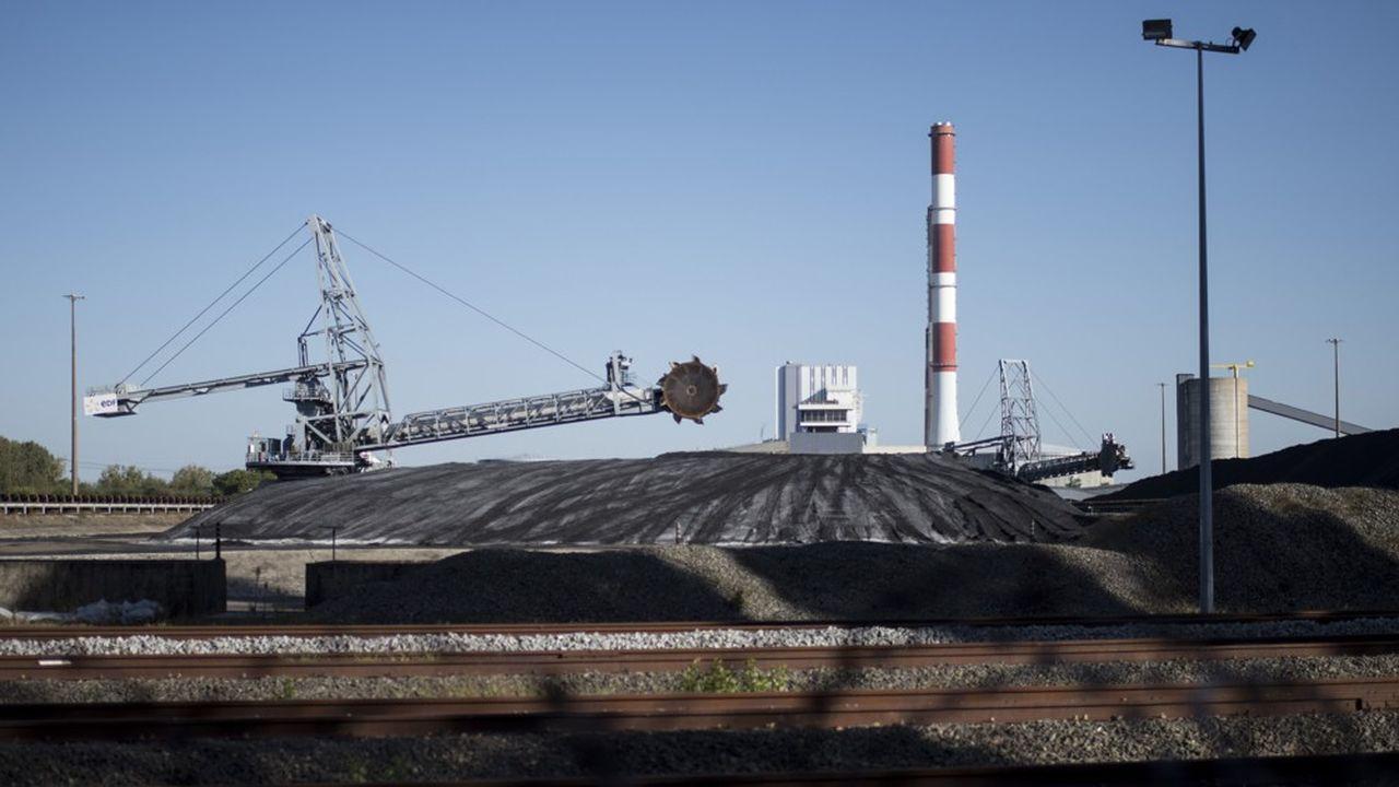 Centrale à charbon de Cordemais.