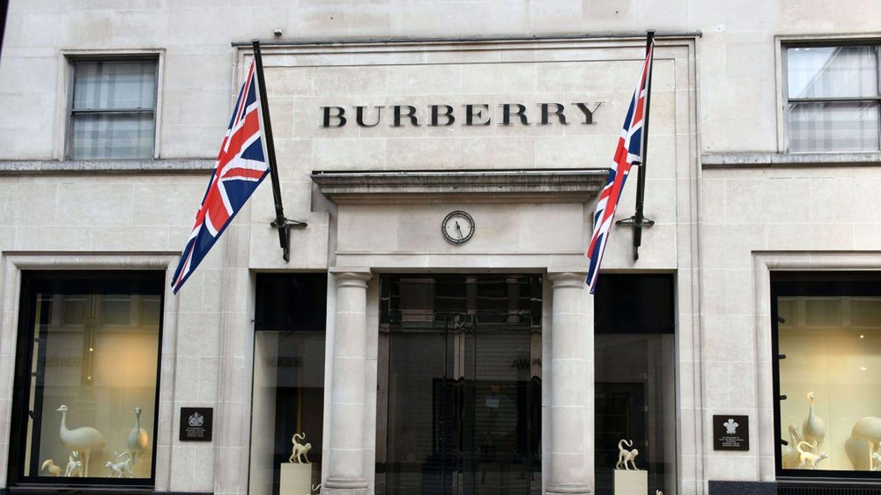 Les actions de la marque du mythique trench-coat ont chuté de 6,7% ce mercredi matin à Londres