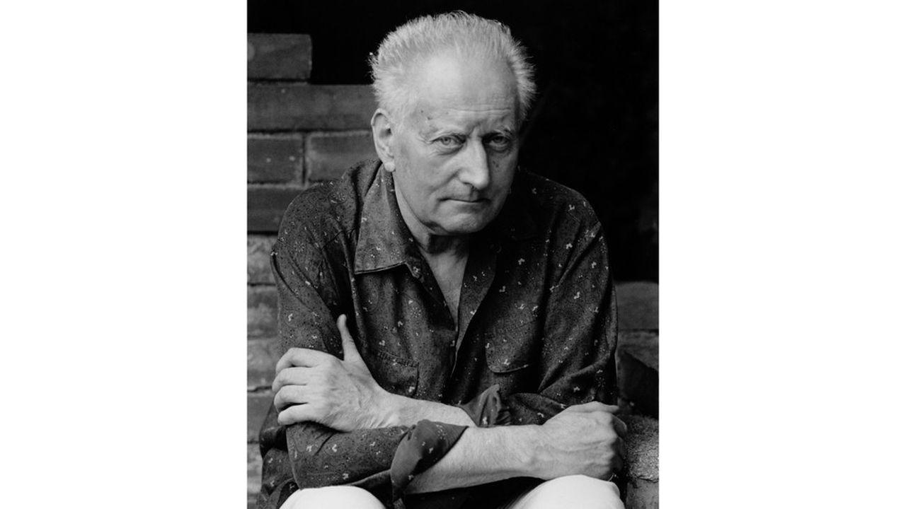 Jean Giono à Manosque, en 1962. Photographie de Horst Tappe (1938-2005).