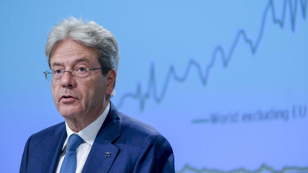 Paolo Gentiloni est commissaire européen à l'Economie.