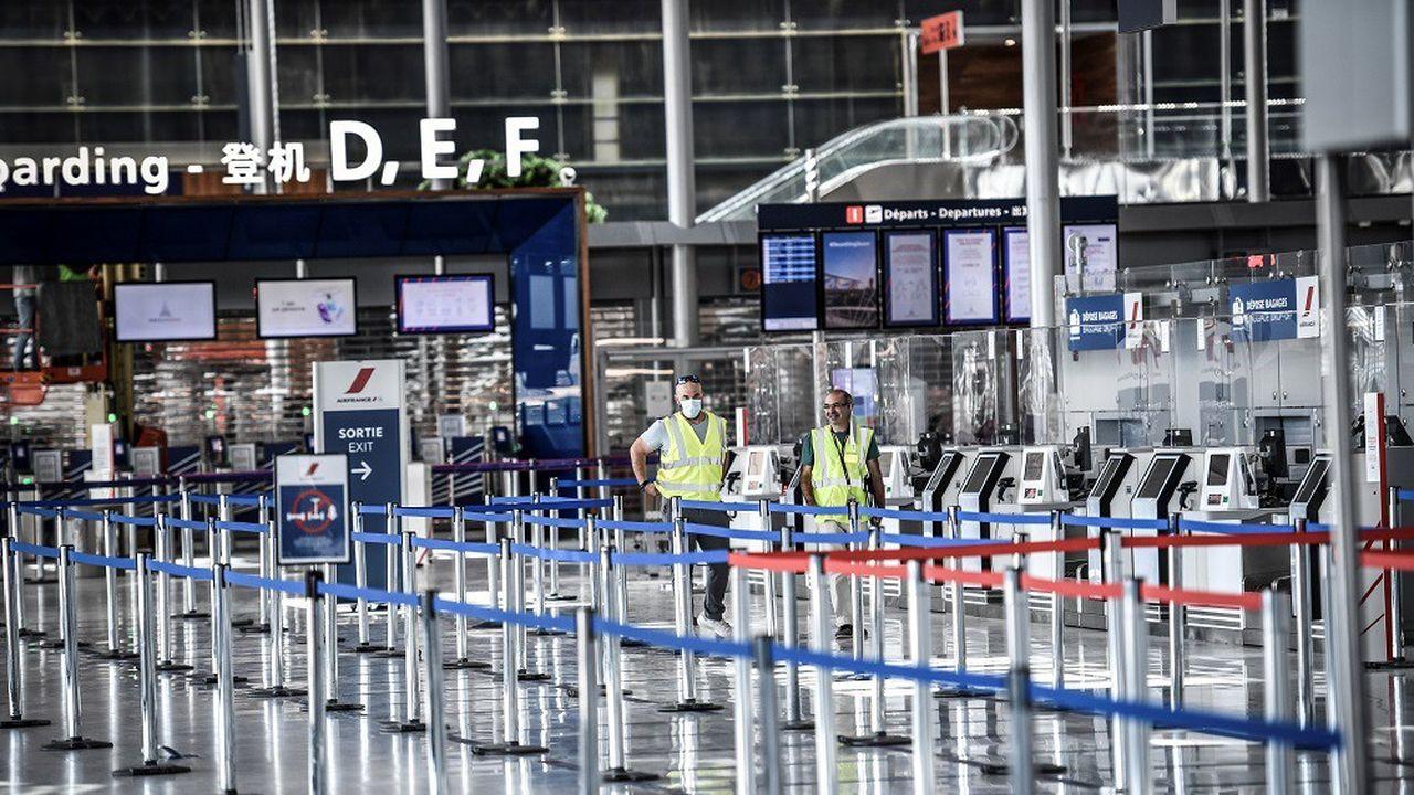 L'aéroport d'Orly a rouvert ses portes fin juin.