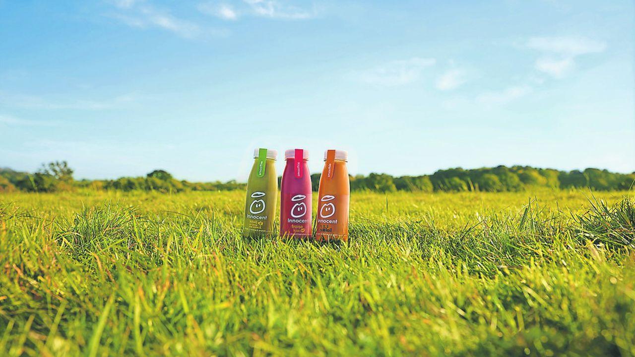 Innocent est une marque de jus de fruits naturels, issus de l'agriculture durable.