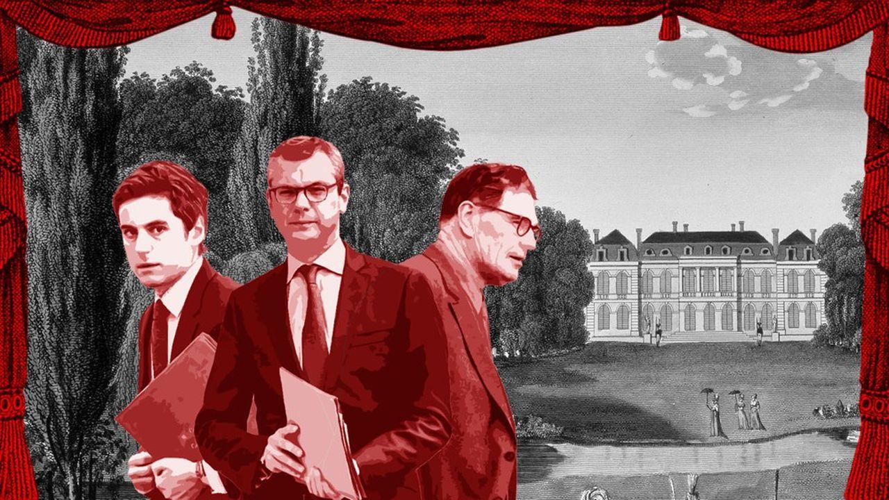 Le roman de l'été: les hommes du président.
