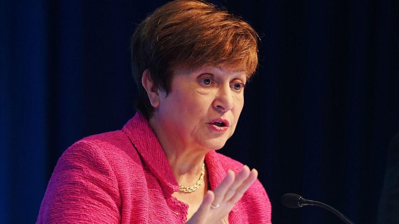Pour Kristalina Georgieva, la directrice du FMI, il importe de poursuivre le soutien aux entreprises même si l'endettement public s'accroît.