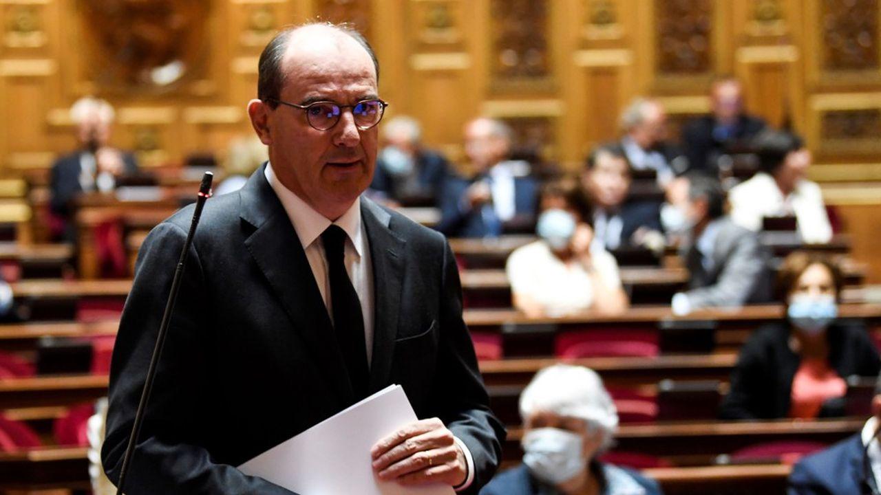 Jean Castex, ce jeudi au Sénat.