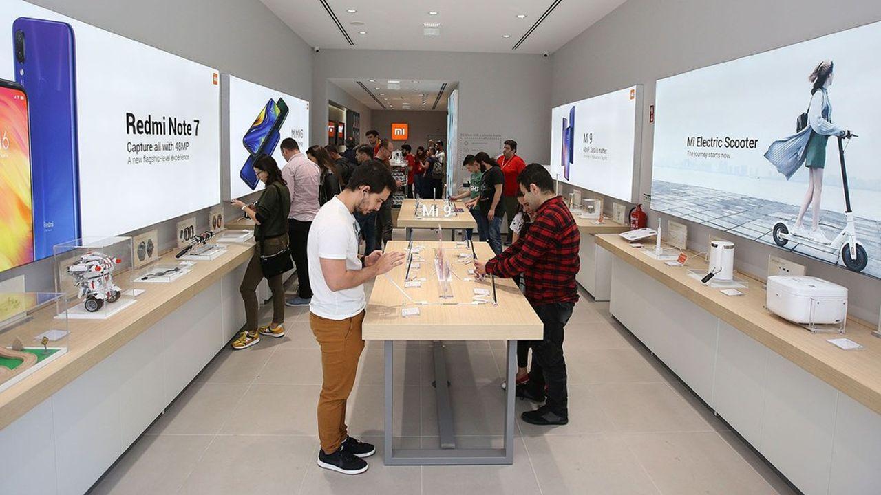 Le géant chinois Xiaomi est présent dans 70pays dont le Portugal. Ici, la boutique située à Porto qui a ouvert ses portes en juin2019.