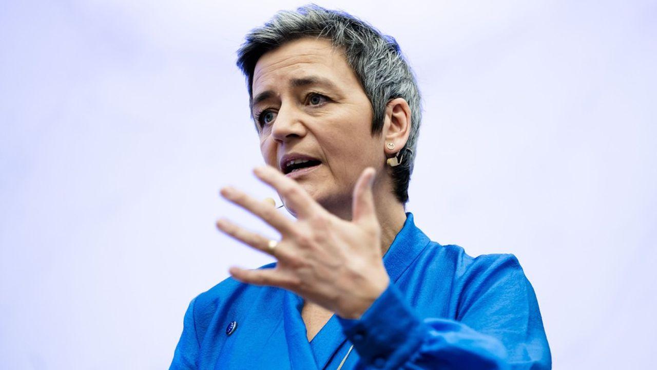 La commissaire à la Concurrence, Margrethe Vestager, est repartie à l'assaut des géants américains du Net.