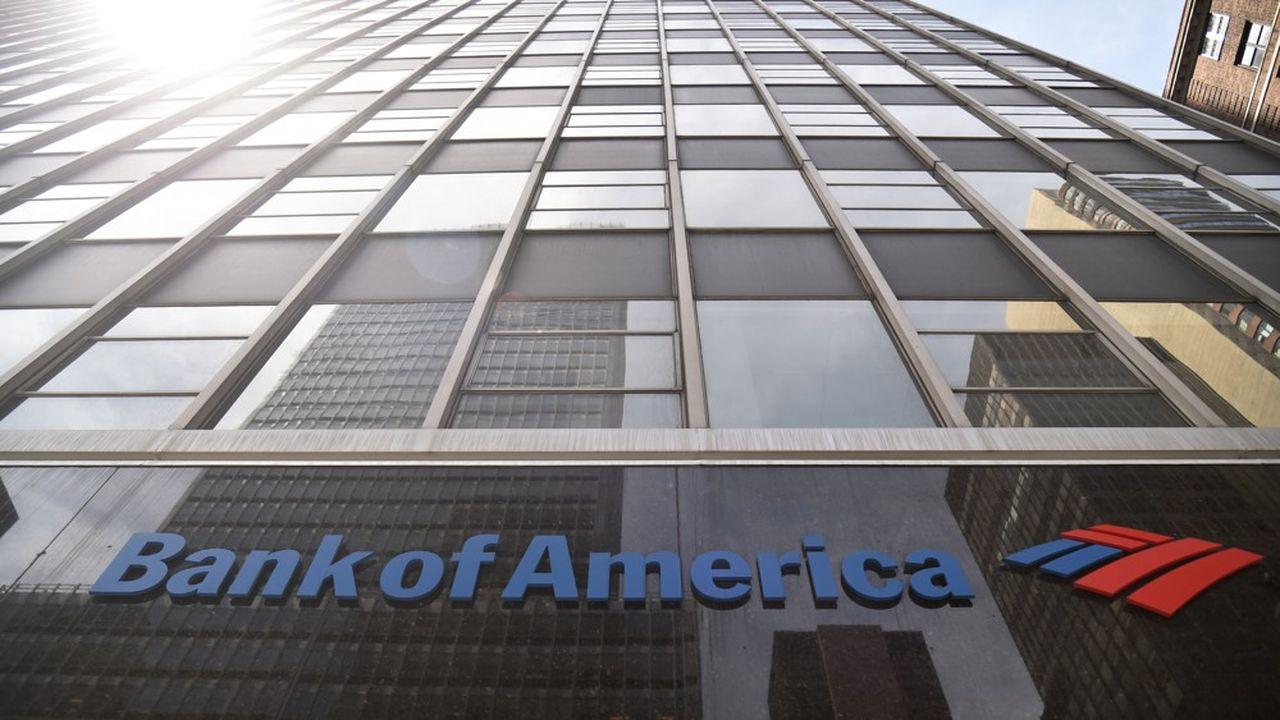 Bank of America a vu son bénéfice fondre mais a résisté grâce au courtage.