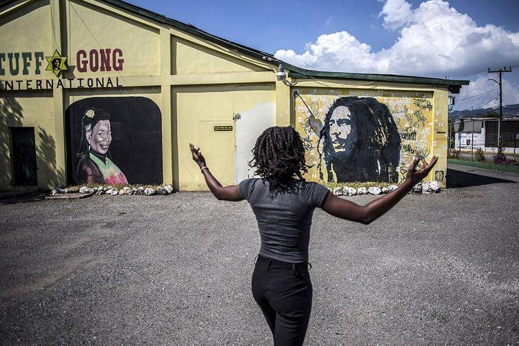 Le studio d'enregistrement Tuff Gong, fondé par Bob Marley à Kingston en 1965