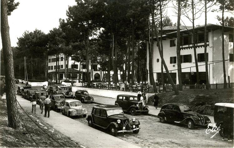 L'hôtel Haïtza après-guerre