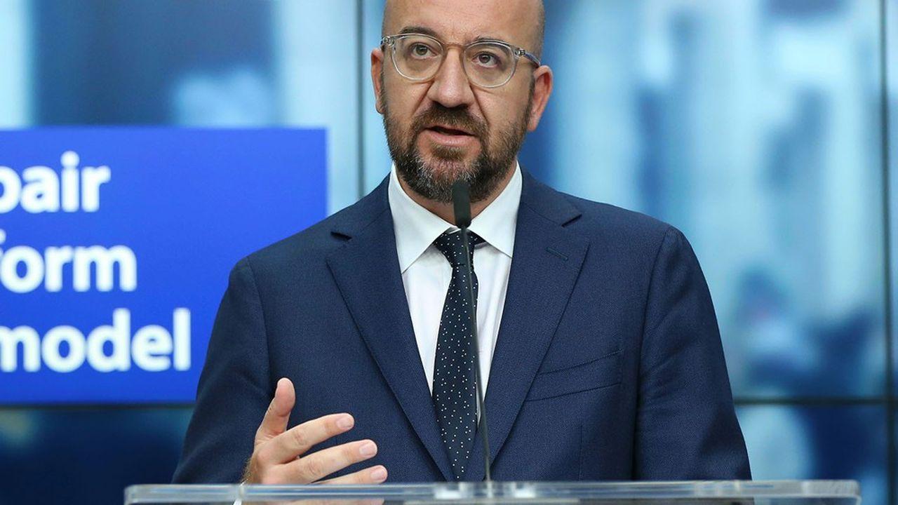 Le 10juillet, le président du Conseil européen, Charles Michel, a défendu un plan de relance mêlant des subventions et des prêts.