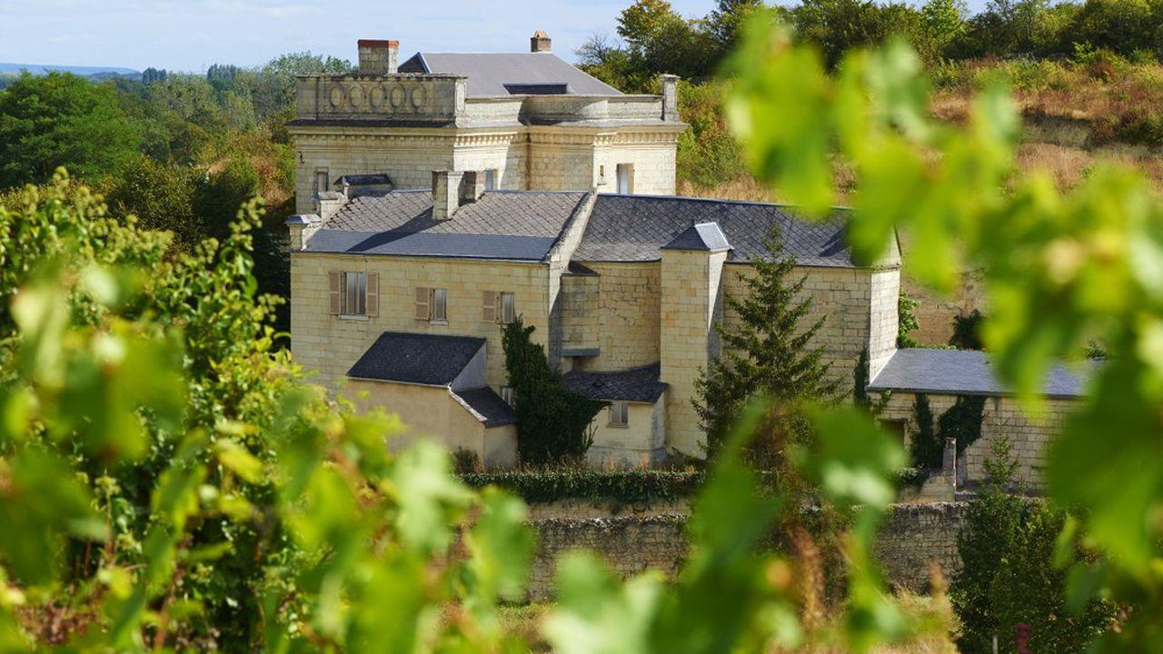 L'ouverture du complexe oenotouristique autour du château de Parnay est prévue pour 2023.