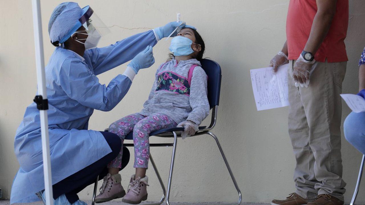 Le taux de positivité des enfants, 31,1% selon les données des autorités sanitaires, est plus élevé que celui de l'Etat, fixé à environ 11%.