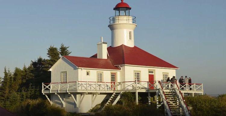Le phare de l'Île-du-Pot-à-l'Eau-de-Vie, Canada