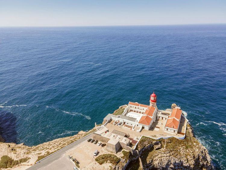 Le phare du cap Saint-Vincent, Portugal