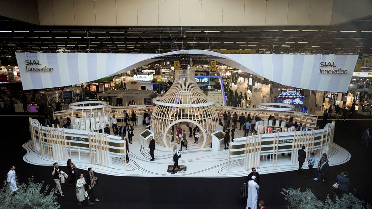 Le SIAL Paris totalise un chiffre d'affaires de 70millions d'euros. Il devait accueillir 7.300 exposants du 18 au 22octobre.