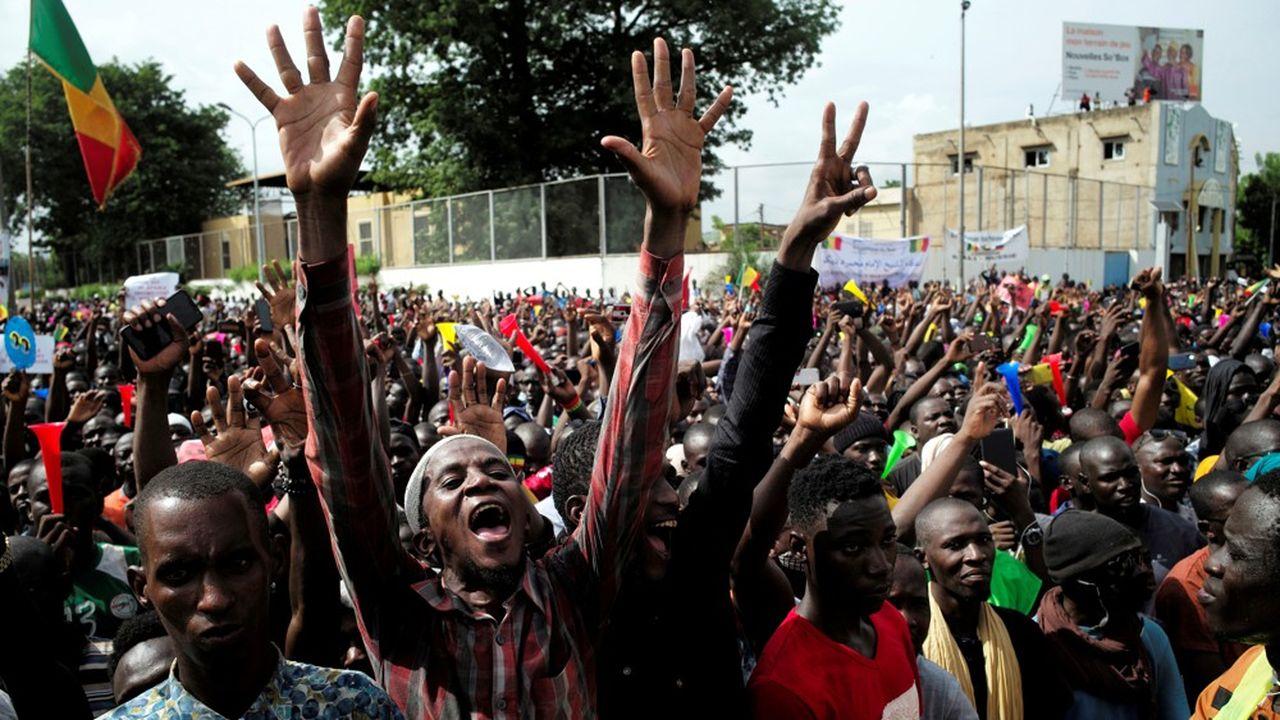 A la suite d'un rassemblement organisé par le M5 le 10juillet dernier, Bamako a été en proie à trois jours de troubles civils.