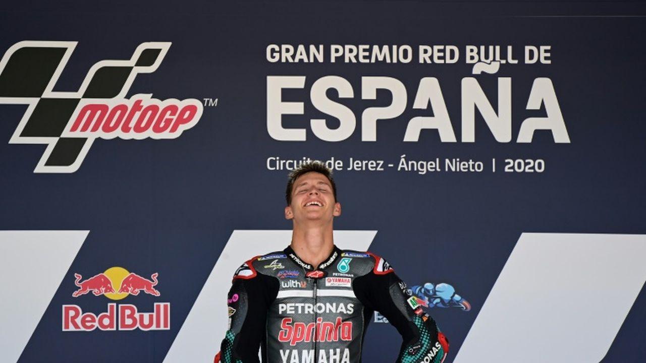 Victoire de Fabio Quartararo, la première d'un Français depuis 1999 — Moto GP
