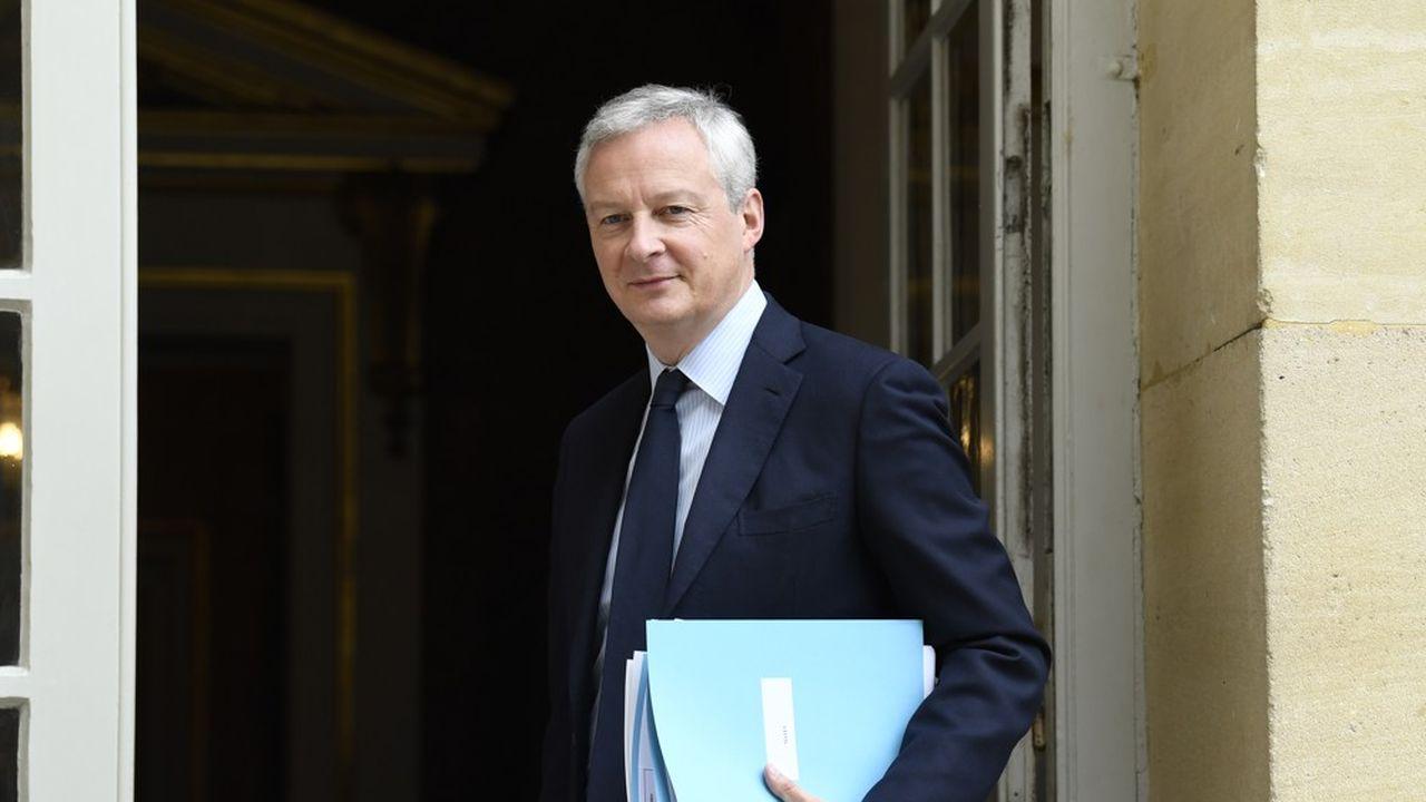 Bruno Le Maire a fermé la porte à un changement de calendrier.