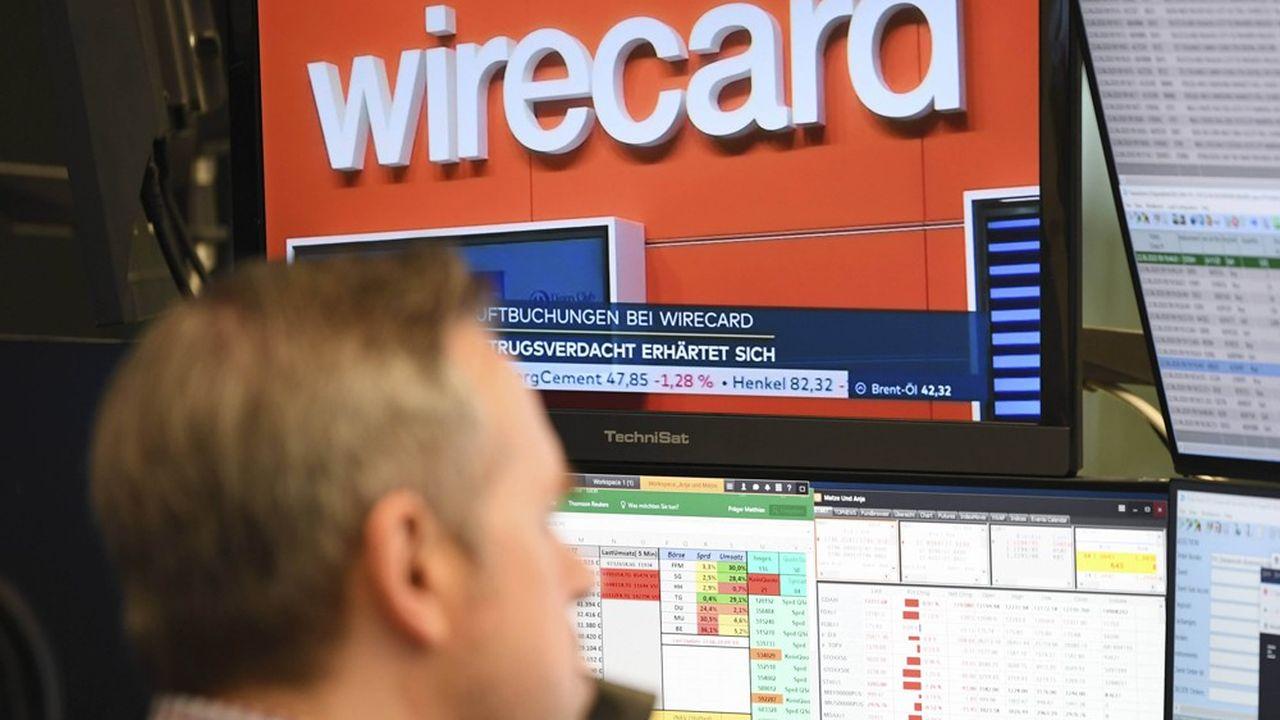 Entrée triomphalement au DAX 30 à l'été 2018, la valeur Wirecard est passée en deux ans de 24milliards à 200millions d'euros.