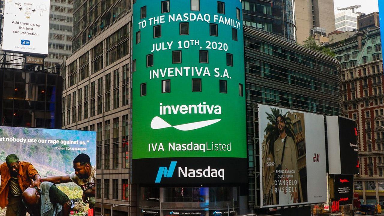 Lors de son introduction au Nasdaq, Inventiva a levé 107millions de dollars, soit 94,9millions d'euros