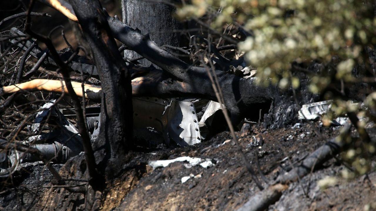 Le 2 août 2019, un pilote de la Sécurité Civile, Franck Chesneau, avait perdu la vie en combattant à bord de son tracker un violent incendie à Générac, dans le Gard.