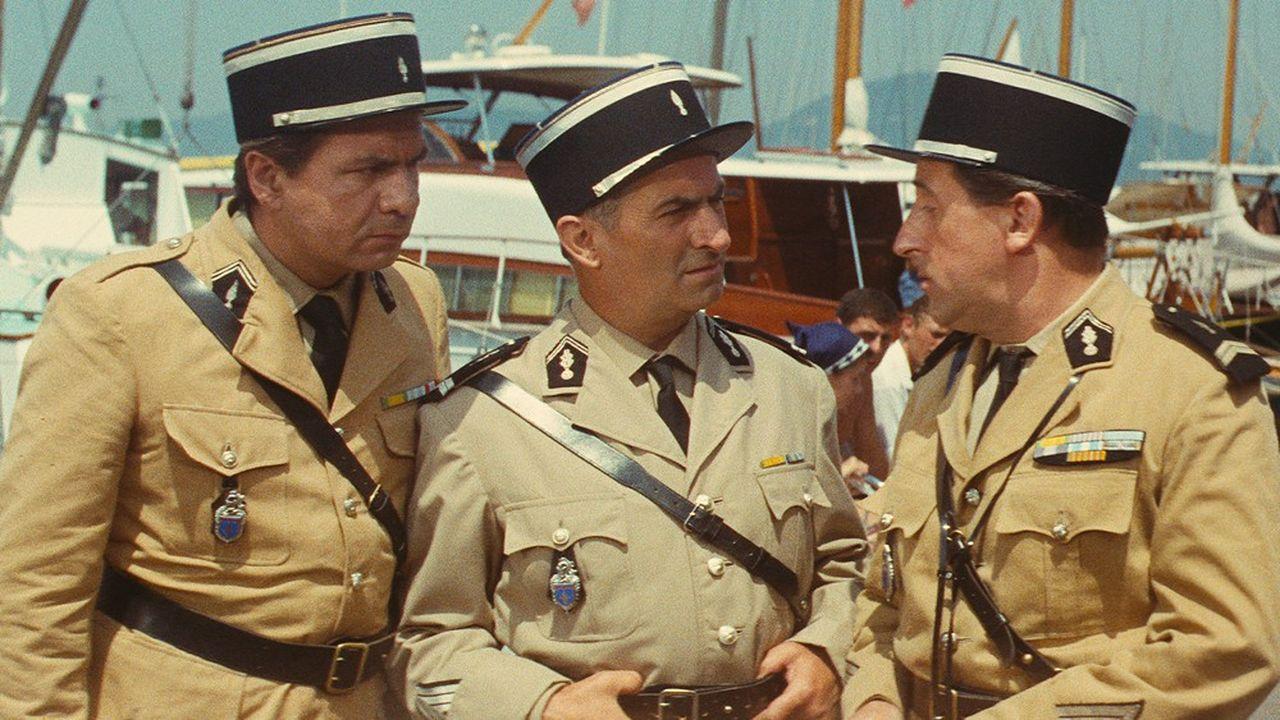 «Le Gendarme de Saint-Tropez» de Jean Girault offre enfin la gloire à de Funès.