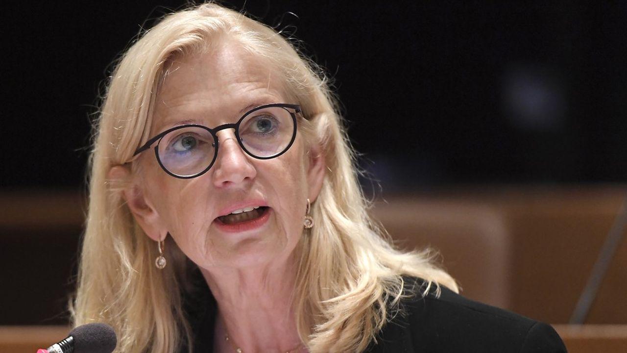 Pia Imbs, la nouvelle présidente de l'Eurométropole de Strasbourg.