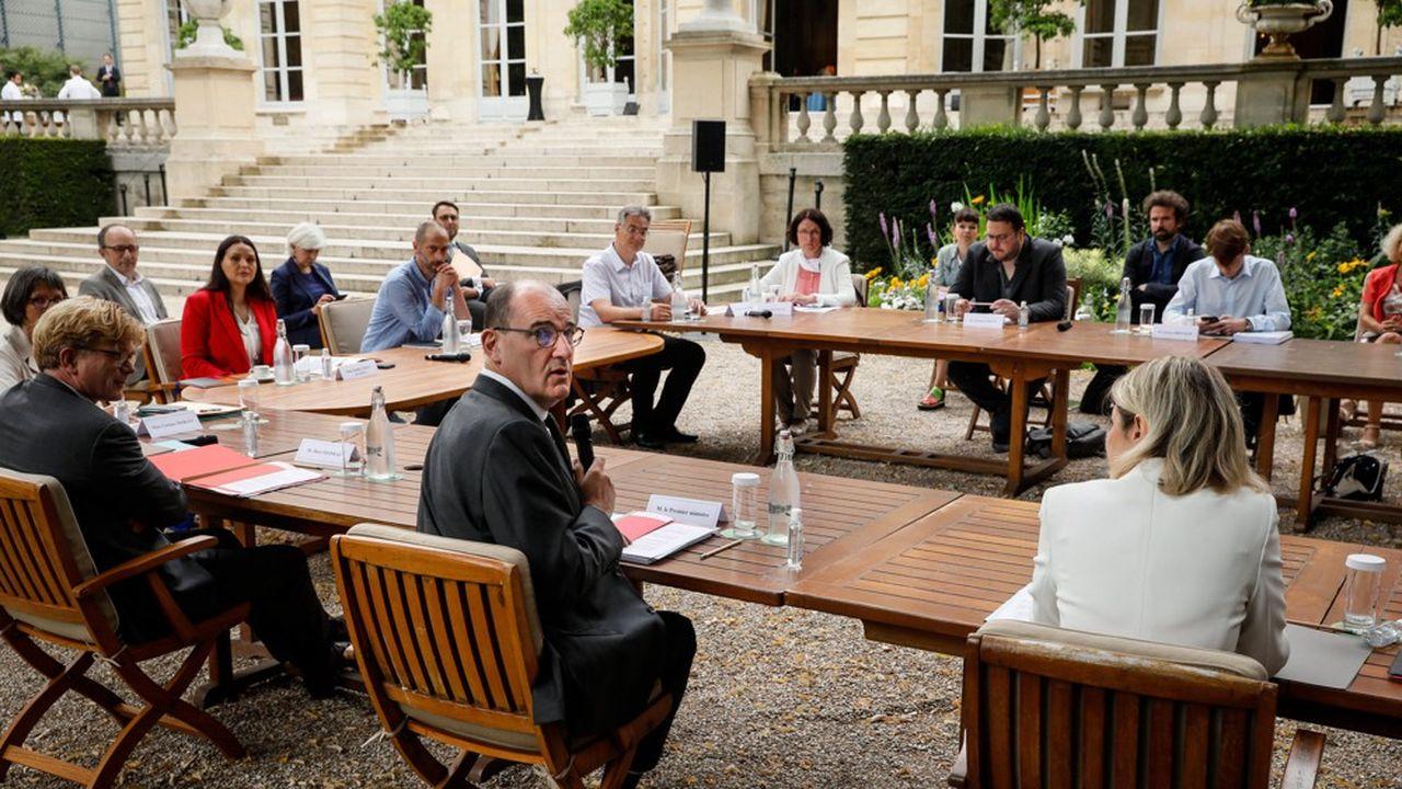 Des représentants de la Convention citoyenne pour le climat ont été reçus lundi par Jean Castex à Matignon.