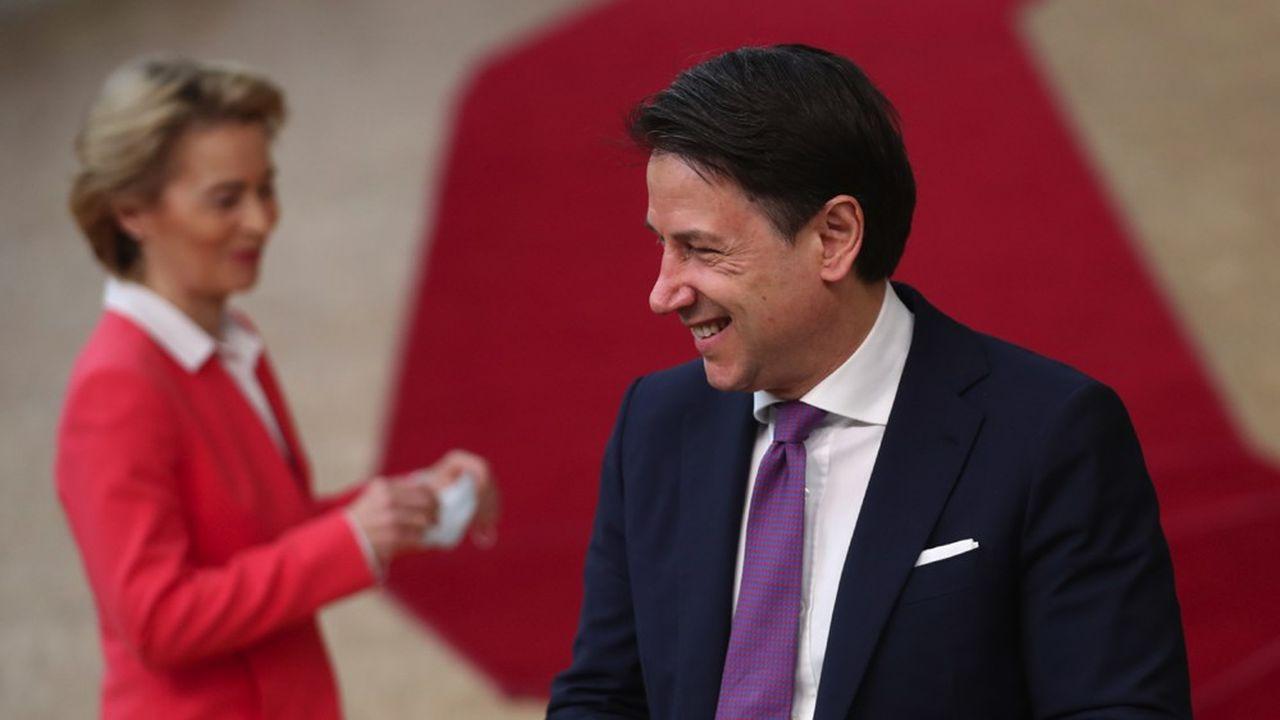 «Notre dignité a été préservée. Avec plus de 200milliards d'euros nous pouvons faire repartir le pays», s'est félicité Giuseppe Conte, mardi, à l'issue du Conseil européen consacré au plan de relance de l'UE.
