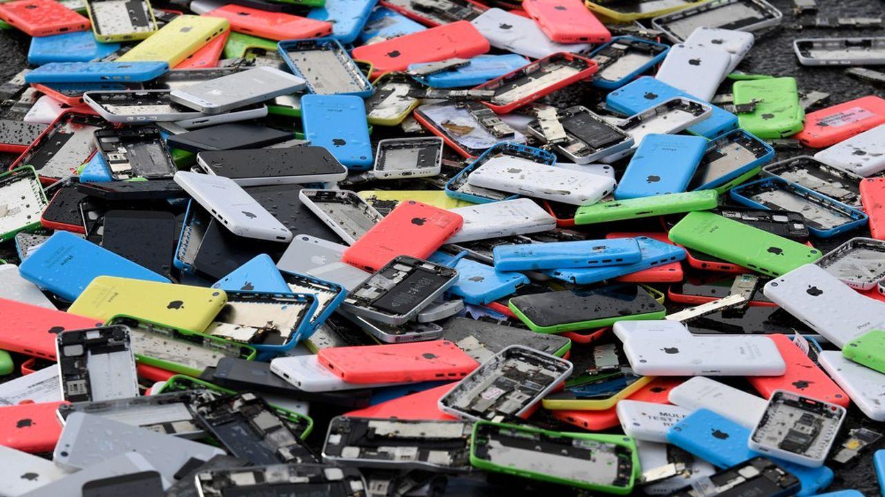 En moyenne annuelle, chaque habitant se sépare de 20kg de déchets électroniques et électriques.
