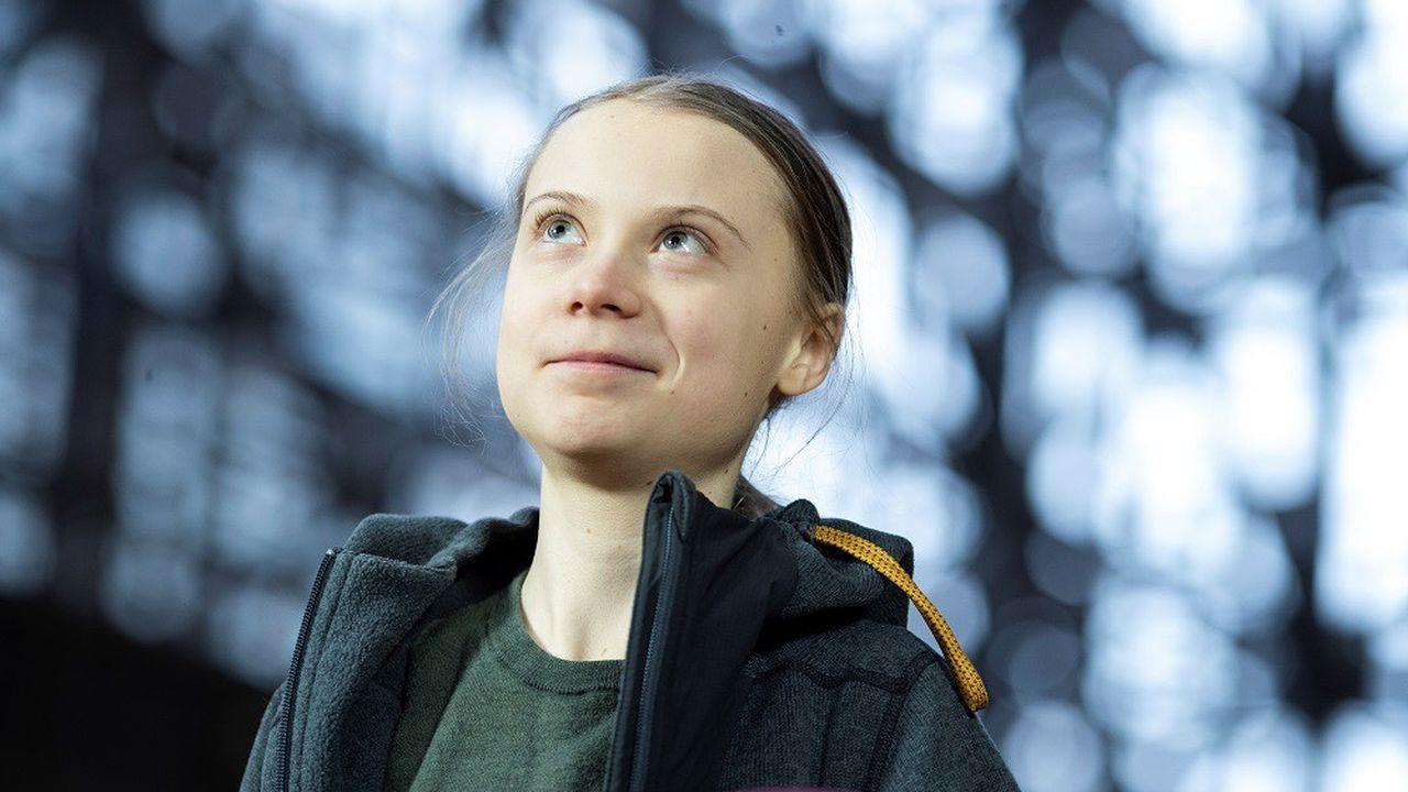 La militante suédoise et figure du mouvement pour le climat Greta Thunberg.