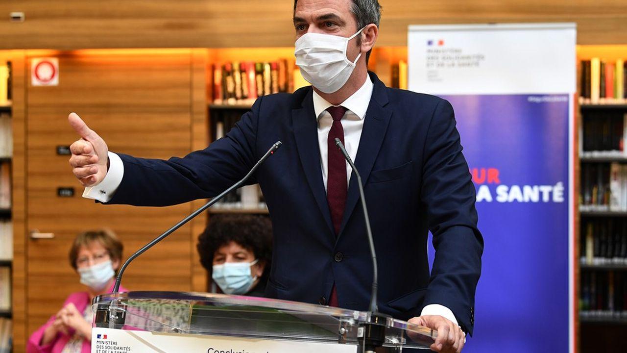 Le ministre de la Santé Olivier Véran veut faire confiance aux hôpitaux et au terrain.