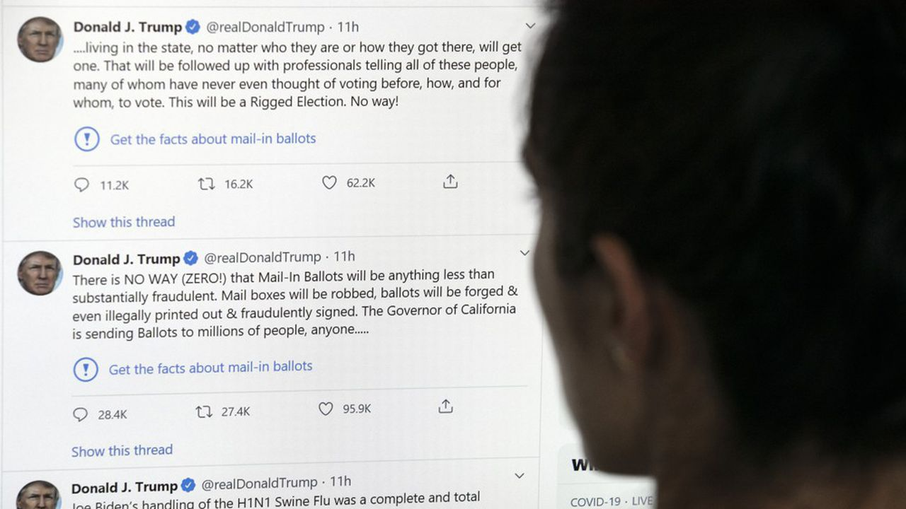 7000 comptes adeptes des théories conspirationnistes américaines ont été bannis — Twitter