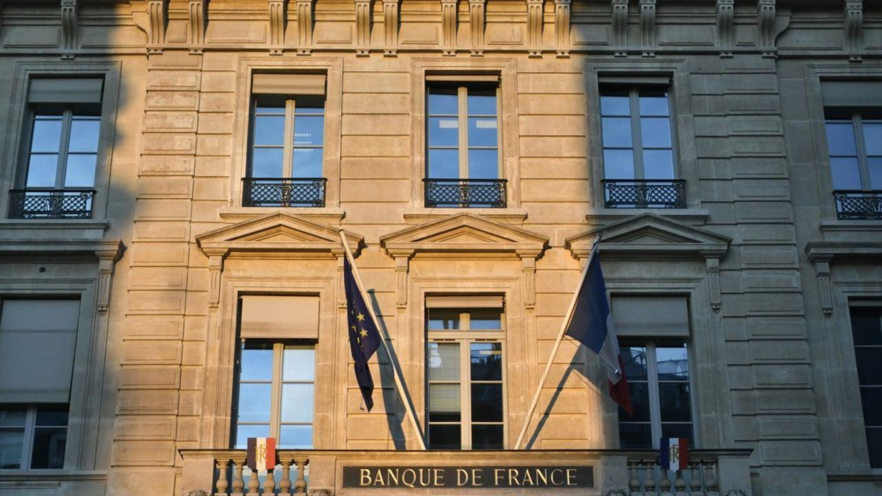 La Banque de France à Paris.