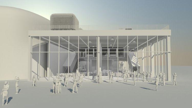 La Chapelle District qui doit être livrée à l'été 2023 sera également un site olympique.