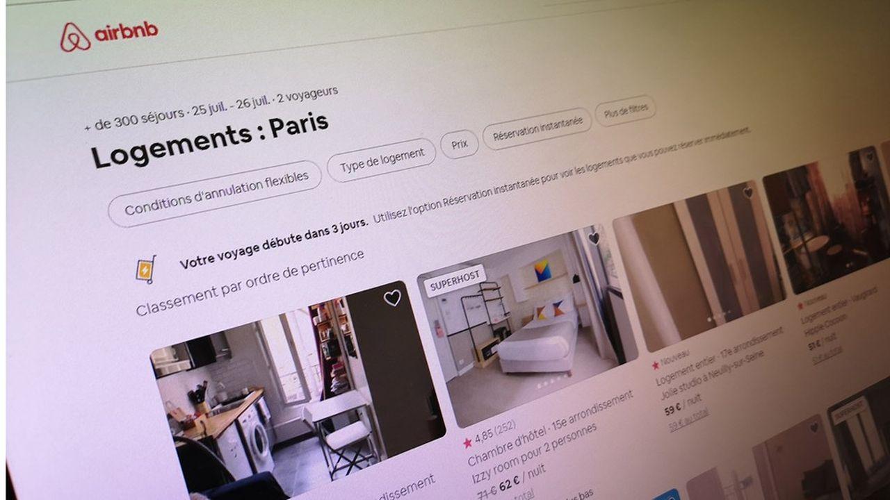 Airbnb assure que l'essentiel des biens loués à Paris (plus de 9 sur 10) l'est moins de 120 jours par an, par des Parisiens qui mettent à disposition leur résidence principale.