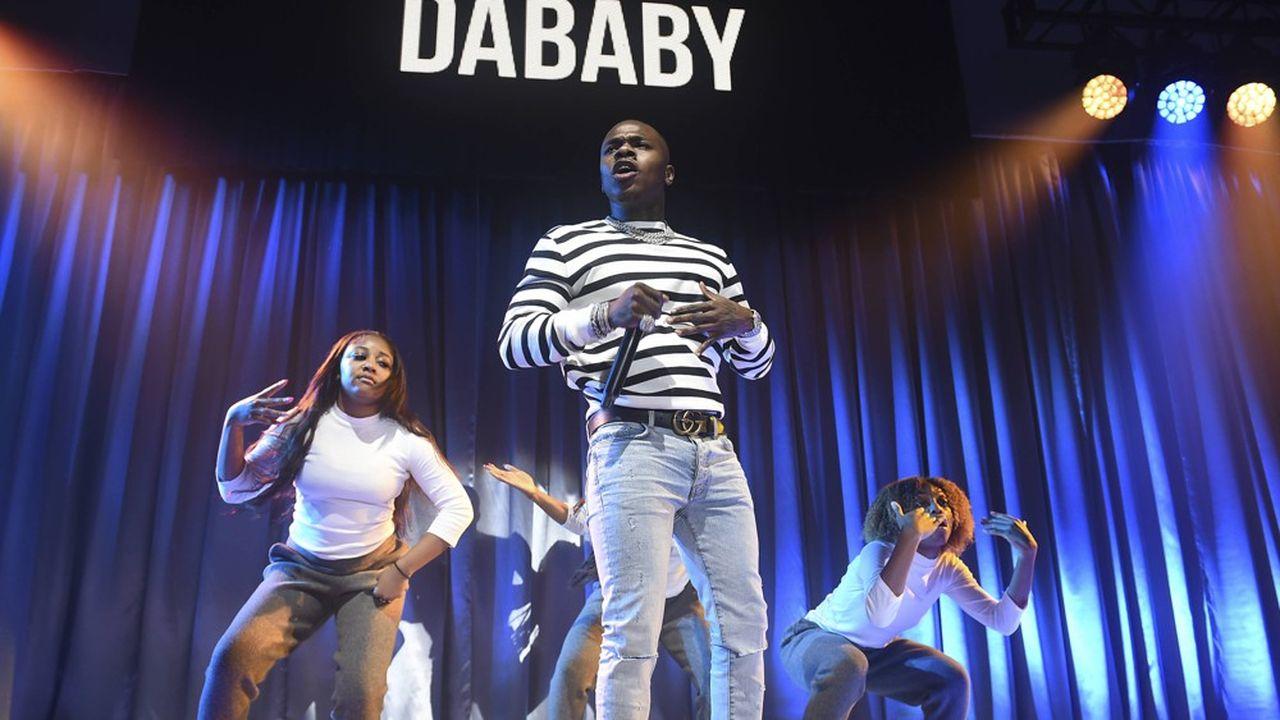 DaBaby, 1er au classement en juillet2020 avec un «featuring» de Roddy Ricch.