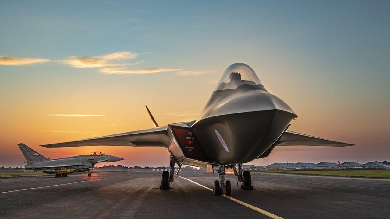 Le Tempest, qui pourra fonctionner avec pilote ou comme simple drone, doit être opérationnel en 2035 pour remplacer à horizon 2040 l'Eurofighter Typhoon développé dans les années 1980 par l'Allemagne, l'Espagne, l'Italie et le Royaume-Uni.
