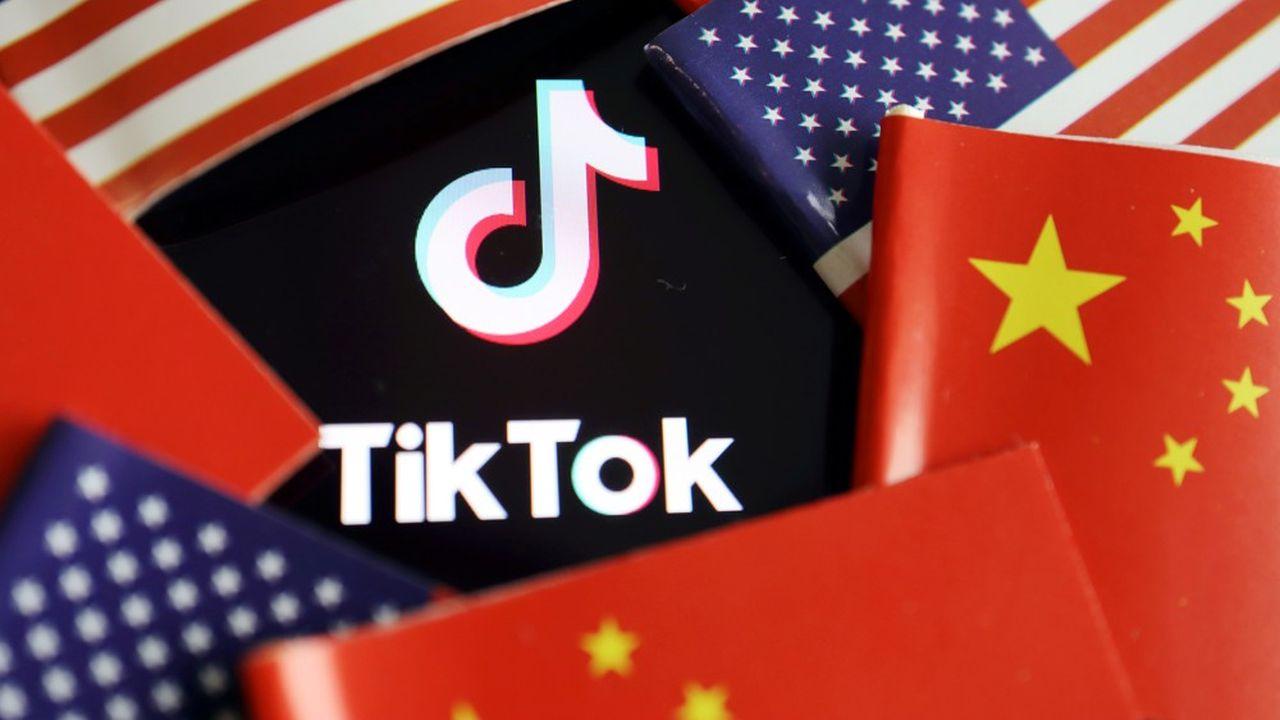 TikTok appartient au groupe chinois ByteDance et compte près de 1milliard d'utilisateurs.