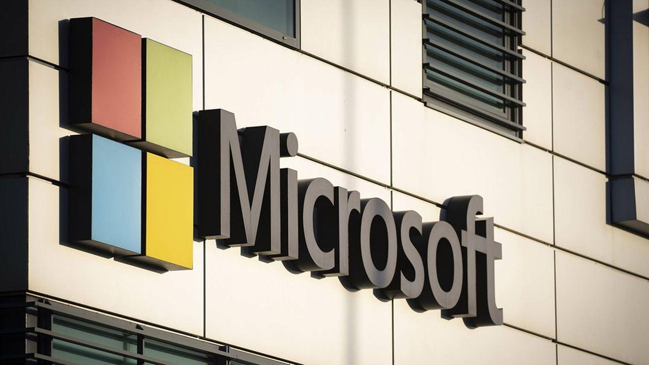 En 2020 le chiffre d'affaires de Microsoft a progressé de 14% à 143milliards de dollars.