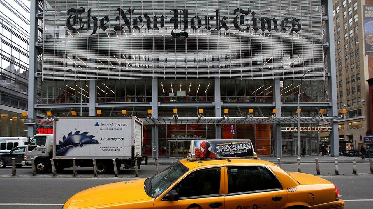Le «New York Times» compte aujourd'hui six millions d'abonnés payants