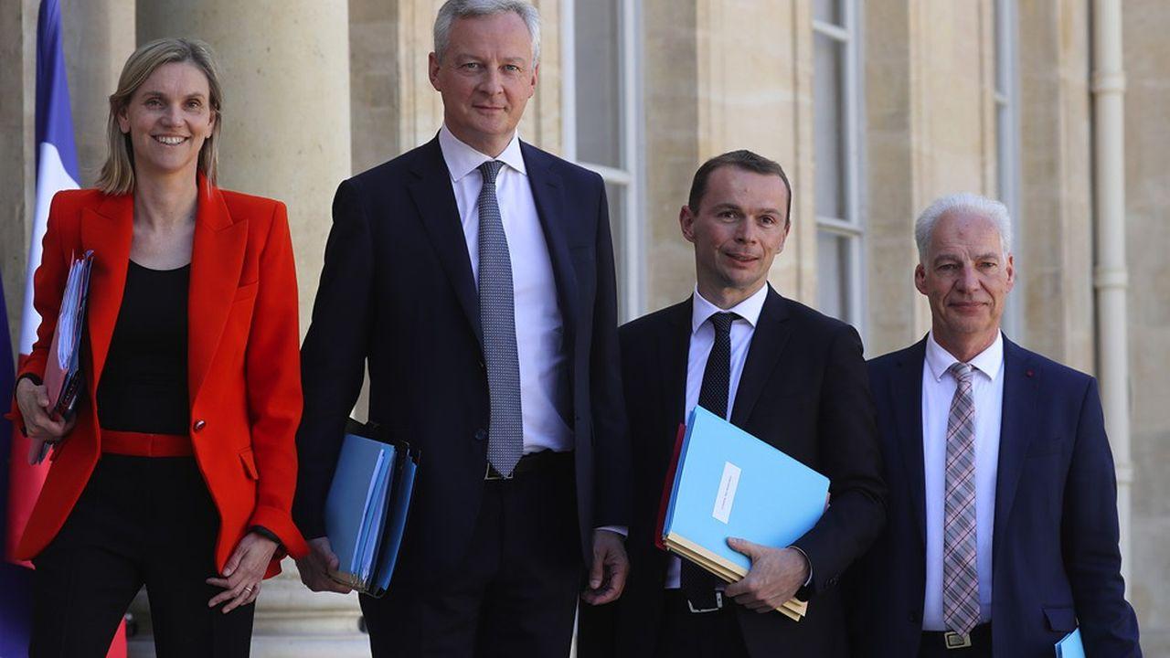 Les ministres Bruno Le Maire et Olivier Dussopt proposent une hausse de 7milliards des crédits de l'Etat en 2021, hors plan de relance.