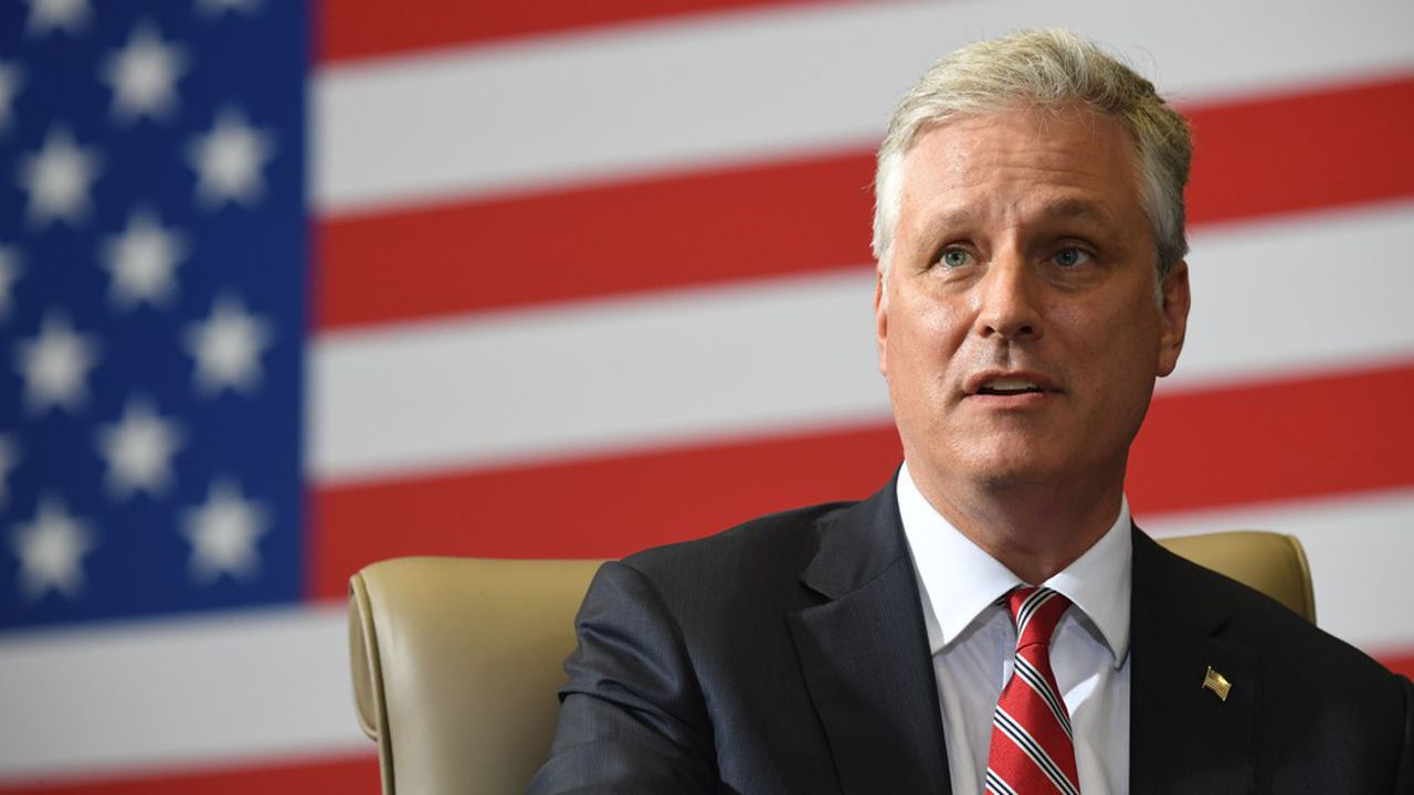 Le conseiller de Donald Trump à la sécurité nationale, Robert O'Brien.
