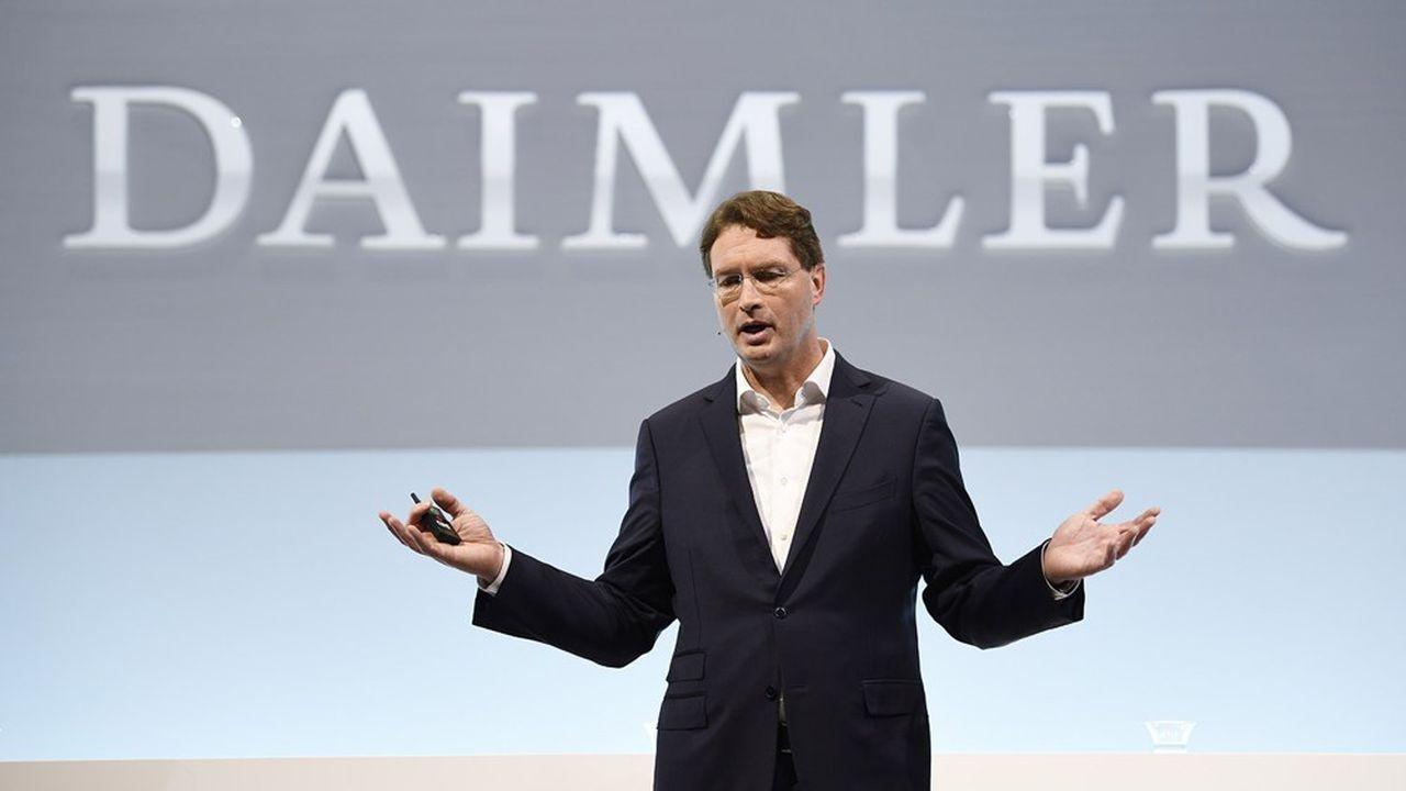Le patron de Daimler, Ola Kaellenius, veut recentrer la production sur le segment rentable du luxe