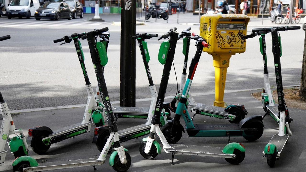 Les 3 opérateurs retenus par la mairie pourront faire circuler jusqu'à 5.000 trottinettes chacun.